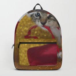 Cat Portrait | Christmas Backpack