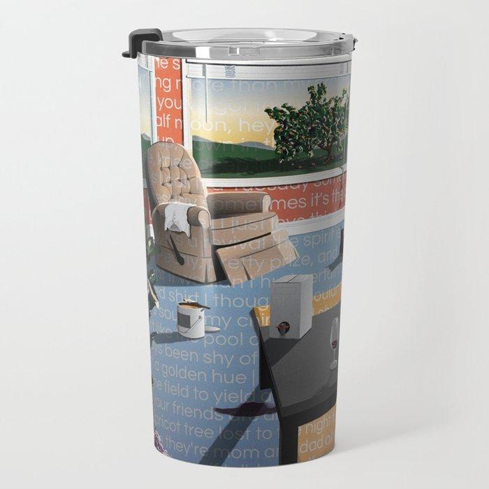 """Hippo Campus - """"Landmark"""" Lyrics Travel Mug"""