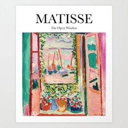Matisse - The Open Window Art Print
