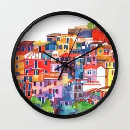 Cinque Terre vol2 Wall Clock
