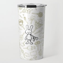 minima - beta bunny / gear Travel Mug