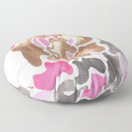 170623 Colour Shapes Watercolor 17 | Abstract Shapes Drawing | Abstract Shapes Art |Watercolor Paint Floor Pillow