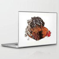rooster Laptop & iPad Skins featuring Rooster by misshannahgamble