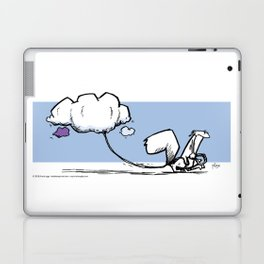Walking the Clouds Laptop & iPad Skin