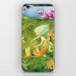Treasures of the Lotus Nymph iPhone Skin