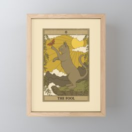 The Fool Framed Mini Art Print