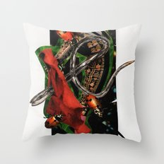 Olé! | Collage Throw Pillow