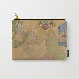 Fantasy Garden Carry-All Pouch
