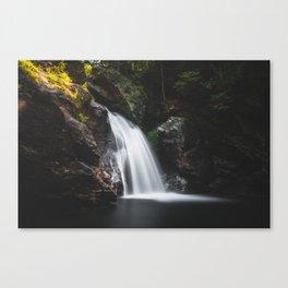 Bingham Falls - Vermont, USA Canvas Print
