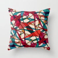 dance Throw Pillows featuring - dance - by Magdalla Del Fresto
