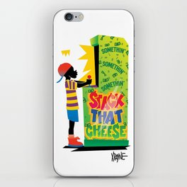 Stack That Cheese iPhone Skin