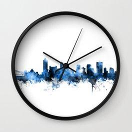 Memphis Tennessee Skyline Wall Clock