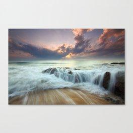 Sunrise sea sky 4 Canvas Print