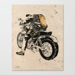 Hard & Heavy  Canvas Print
