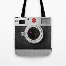 classic retro Black silver Leather vintage camera iPhone 4 4s 5 5c, ipod, ipad case Tote Bag