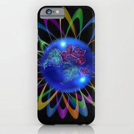 Abstract in Perfection - Rose 3 iPhone Case