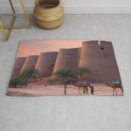 Gracious World Popular Derawar Fort Bahawalpur District Punjab Pakistan Asia Ultra HD Rug