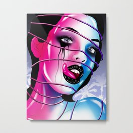 Lick My Pain Metal Print