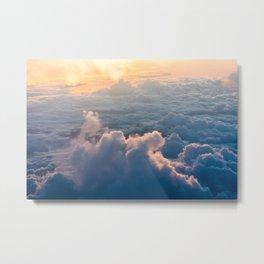 cloud and sun Metal Print