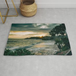 Cloudy Sunset Rug