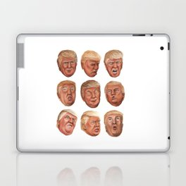 Faces Of Donald Trump Laptop & iPad Skin