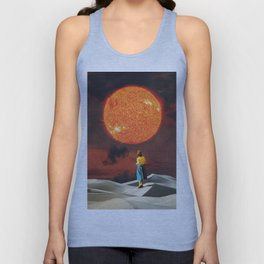 Your Heart Is The Sun Unisex Tank Top
