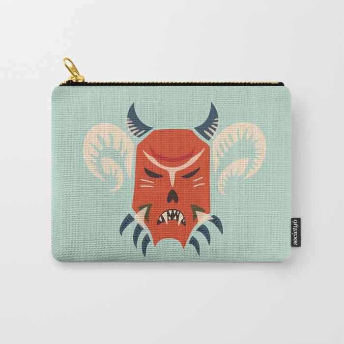 Kuker Evil Monster Mask Carry-All Pouch