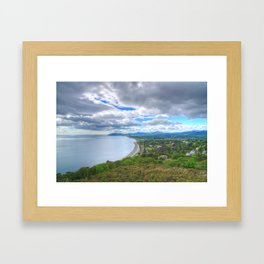 Killiney Hill in Dublin, Ireland Framed Art Print