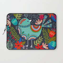 mandala flower birds Laptop Sleeve
