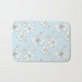 Cherry blossom flowers Bath Mat
