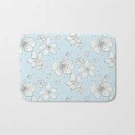 Cherry blossom flowers Bath Mat