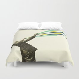 The Power of Magic Duvet Cover
