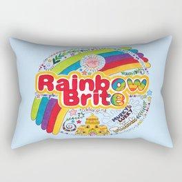 Rainbow Brite Rectangular Pillow