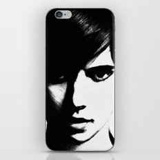 Slender Face iPhone & iPod Skin