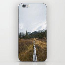 Road to Ergaki iPhone Skin