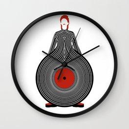 Disco Bowie Wall Clock