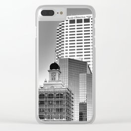 Uptown V Clear iPhone Case