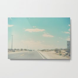 lets go on a road trip photograph Metal Print