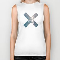 the xx Biker Tanks featuring XX  by Sara Eshak