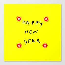 happy new year 13 Canvas Print