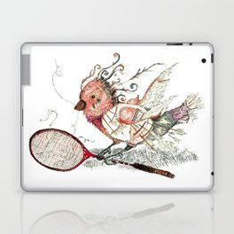 The Wild Badminton Birdie Laptop & iPad Skin