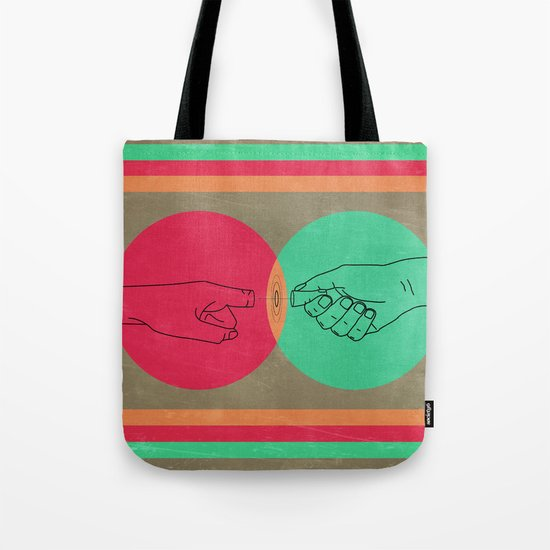 Pull your finger out  Tote Bag