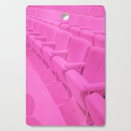 Pink Theater Seats in Palm Springs Cutting Board