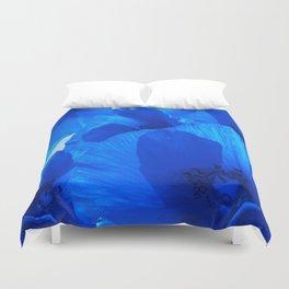 Blue Poppies #decor #society6 #buyart Duvet Cover
