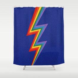 Thunder Rainbow Shower Curtain