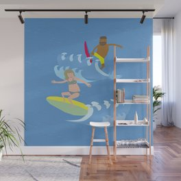 Ride the tide Wall Mural