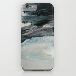 minimal brushstrokes 3 iPhone Case