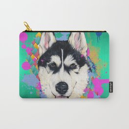 Husky Malamute Carry-All Pouch