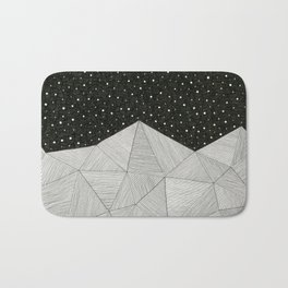 Stripe Mountains Bath Mat