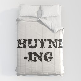 #Huynh-ing Scattered Leaves Comforters